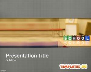 Шаблон PowerPoint Школьное планирование