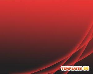 Шаблон PowerPoint Темно-красный