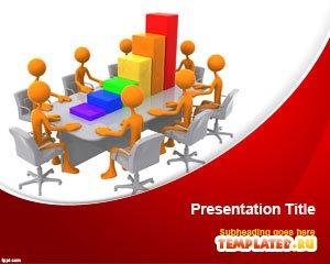 Шаблон PowerPoint Совещание