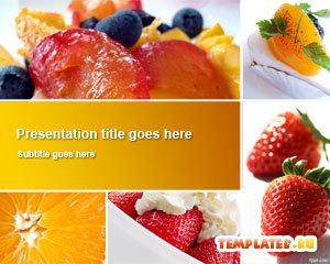 Блюда из фруктов