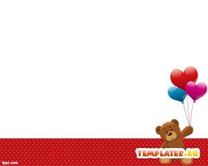 Плюшевый медведь с шариками