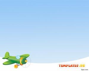 Зеленый самолёт